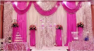 Fuchsia Pink Curtains Online Get Cheap Fuchsia Swags Aliexpress Com Alibaba Group