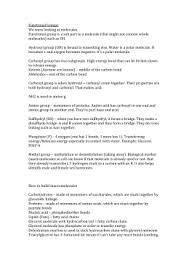 organic chemistry worksheet