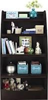 amazon com cosco hazel kids 4 shelf bookcase espresso kitchen
