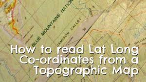 Map Of The World With Latitude And Longitude by How To Find Latitude Longitude From Topographic Map Youtube