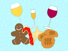 cartoon wine png this holiday cookie and wine pairing chart is your key to