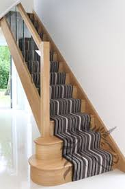 Stair Banister Glass Balustrading Oak Handrail With Glass Toughened Glass