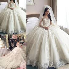 wedding dresses 2017 gown wedding dresses 2017 new sleeve see through