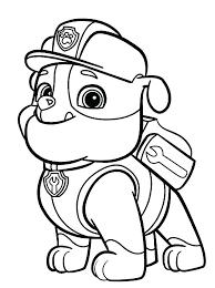 paw patrol marshall coloring u2013 corresponsables