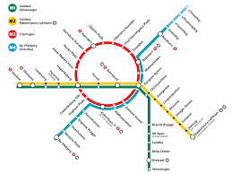 Stockholm Metro Map by Copenhagen Metro Wikipedia