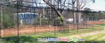 atlanta batting cage netting 10x10x30 ft economy sport net