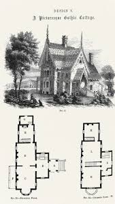 gothic style homes best gothic revival architecture images on pinterest house plan