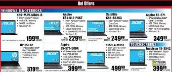 black friday deals for tablets micro center black friday deals include 100 off apple imac