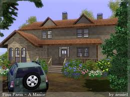 mod the sims finn farm a manor