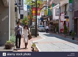 quaint downtown shopping area in the heart of the city of