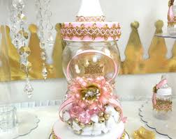 royal princess baby shower ideas princess baby shower candy buffet cake centerpiece with
