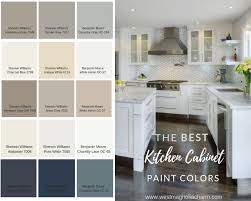 kitchen cabinet color ideas how to select the best cabinet paint colors for a brighter