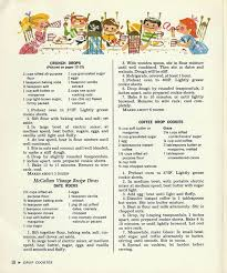 3 cookie recipes from 1965 vintage cookbook mccall u0027s cookie