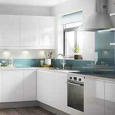 Shiny White Kitchen Cabinets Best Gloss White Kitchen Cabinet Doors Flat White Cabinet Doors