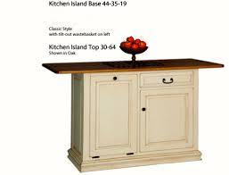 Maple Kitchen Island by Kitchen Island Gallery Heritage Allwood Furniture