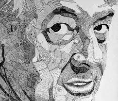 Sho Green intricate doodle portraits scene360