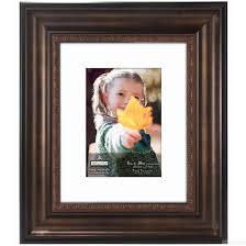 photo albums for 8x10 pictures bolton bronze 8x10 5x7 ridged matted frame by malden design