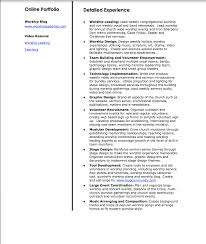Sample Ministry Resume by Nic Cook Worship Resume Church Leader Lab
