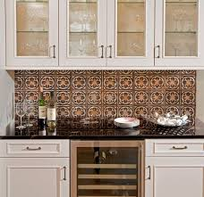 Best TIN Backsplashes Images On Pinterest Tin Tiles - Tin ceiling backsplash