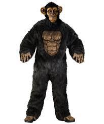 gorilla halloween mask complete chimpanzee costume costume animal halloween