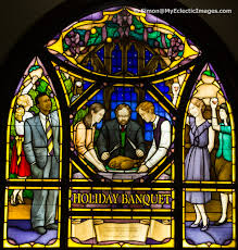 octagon stained glass window finding mark twain in elmira new york the birthplace of tom