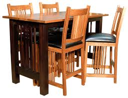 Dining Room Chairs Chicago Galena Trestlend Dining Room Set Amish Furniture Gallery