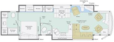 grand floor plans grand tour floorplans winnebago rvs