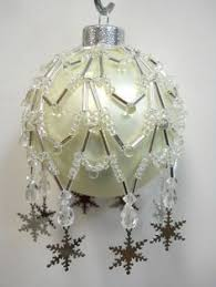 beaded ornament covers free patterns belle of the ball ornament