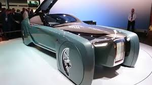 future rolls royce rolls royce unveils luxury vehicle of the future youtube