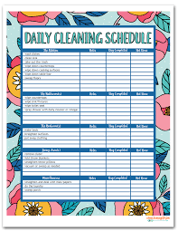printable house cleaning schedule i should be mopping the floor free printable house cleaning schedule