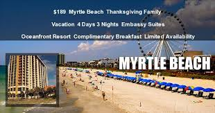 189 myrtle 3 day embassy suites thanksgiving deal