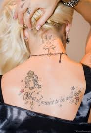 49 impressive religious neck tattoos