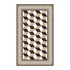buy beija flor bauhaus cube vinyl floor mat amara