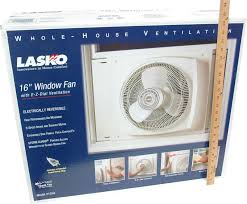 16 inch whole house fan lasko 2155a 16 inch reversible window fan with 3 comfort settings