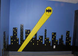 Superman Bedroom Decor by Batman Logo Wall Sticker Image Collections Home Wall Decoration