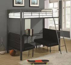 Bunk Bed With Table Underneath Transforming Bunk Beds