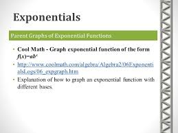 exponentials and logarithms ppt download