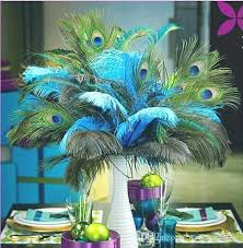 peacock wedding decorations peacock wedding centerpieces unique style