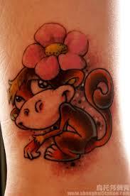 123 best monkey tattoos images on pinterest monkey tattoos