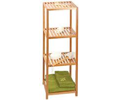 salle de bain luxe meuble etagère 4 niveaux bambou salle de bain luxe 6248