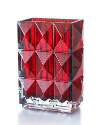 Red Vases And Bowls Crystal Décor Vases U0026 Decanters At Neiman Marcus