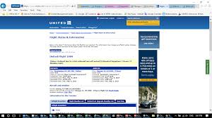 United Airlines Flight Change by United Airlines Customer Reviews Skytrax