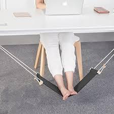 foot elevation under desk amazon com foot hammock by basic support black ergonomic