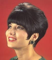 pixie hair cuts on wetset hair short teased cut the old styles bouffant wetset hair
