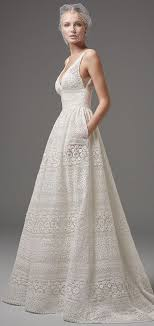 wedding dresses with pockets 30 effortlessly chic wedding dresses with pockets weddingomania