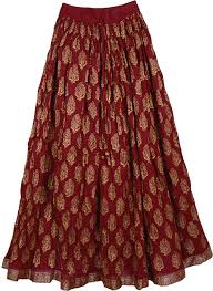 cotton skirts radiance crinkled cotton skirt clothing crinkle