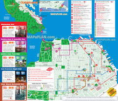 San Francisco Maps by Hop On Hop Off San Francisco Map Michigan Map