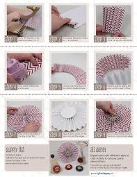 paper fan circle decorations tutorial rosette party decorations big dot of happiness