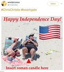 Shots Fired Meme Origin - chris christie is roasted in hilarious beachgate memes daily mail