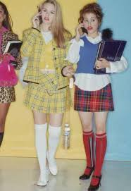 clueless costume on the hunt